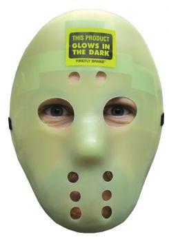Plastic Hockey Mask - Glow