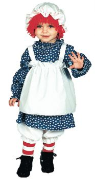 Raggedy Ann Costume - Toddler (1 - 2T)