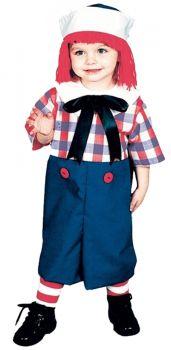Raggedy Andy Costume - Child (4 - 6)