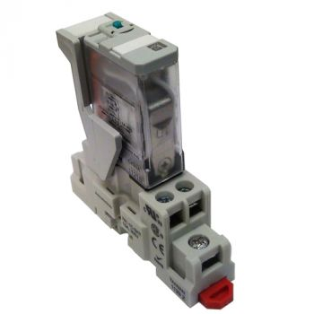 24vDC Activated Single Pull Double Throw 15-Amp Relay