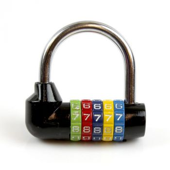 5 Number Color Coded Lock