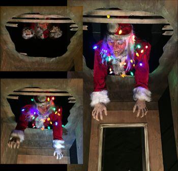 Drop Thru Ceiling Santa - DTCS1005
