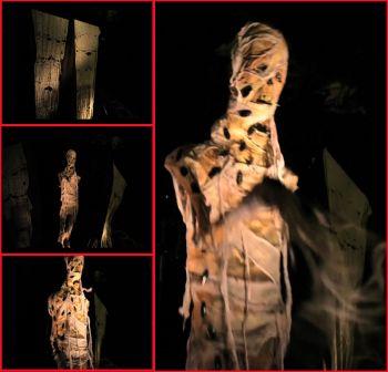 mummy curtain lunger - MC301