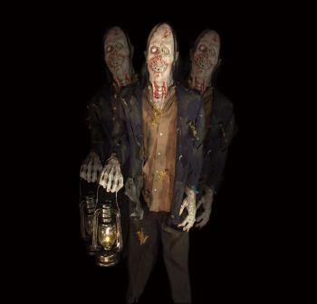 rotating maggot zombie lantern - RZ420