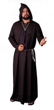 Robe Monk Quality - Black