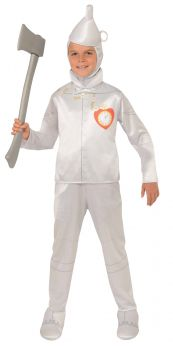 Boy's Tin Man Costume - Wizard Of Oz - Child Large