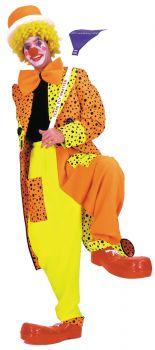 Men's Neon Dapper Dan Clown Costume - Adult Medium