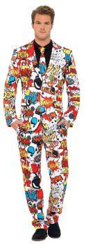Comic Strip Suit - Adult M (38 - 40)
