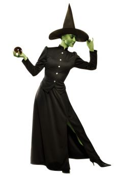 Women's Classic Witch Costume - Adult S (4 - 6)