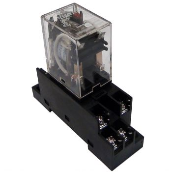 AC Activated Double Pull Double Throw 5-Amp Relay