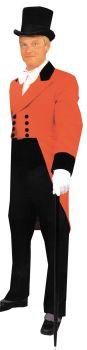 Men's Ringmaster Coat & Vest - Adult Medium