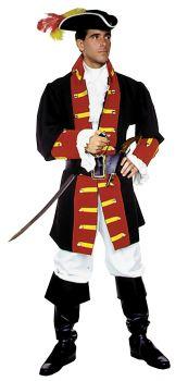 Men's Captain Hook/Prince Costume - Adult Medium