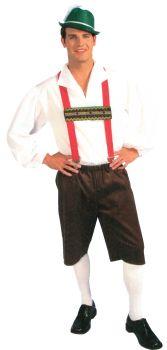 Men's Lederhosen Costume - Adult L (44 - 46)