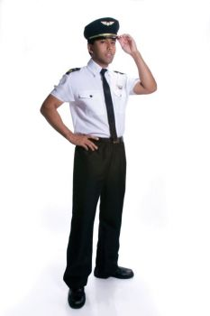 Men's Pilot Costume - Adult L (42 - 46)