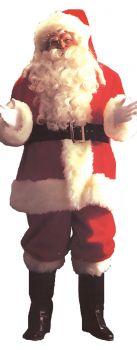 Men's Santa Suit Deluxe 9191 - Adult (40 - 48)