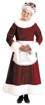 Women's Santa Dress Long - Adult L (16 - 18)