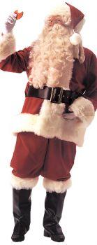 Men's Santa Suit Deluxe Velvet - Adult (40 - 48)