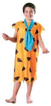 Boy's Fred Flintstone Costume - Child Large