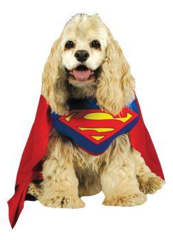 Superman Pet Costume - Pet Medium
