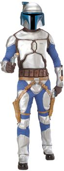 Boy's Deluxe Jango Fett Costume - Star Wars Classic - Child Large