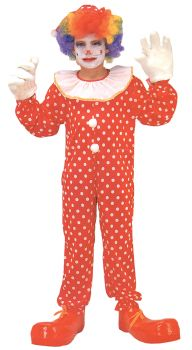 Clown Costume Deluxe - Child L (10 - 12)