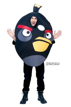 Angry Birds Black Adult Os