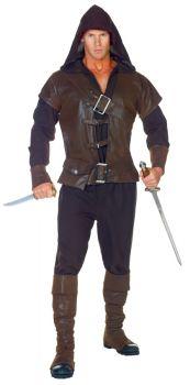 Men's Assassin Costume - Adult OSFM
