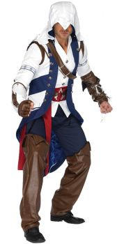 Men's Connor Costume - Assassin's Creed - Adult S/M
