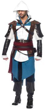 Men's Edward Costume - Assassin's Creed - Adult M/L