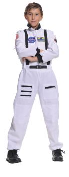 Astronaut White Child 4-6