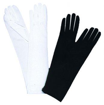 Elbow-Length Gloves - Black