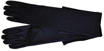 Gloves Shoulder Length - Black - Adult XL