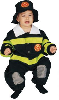 Baby Firefighter Bunting