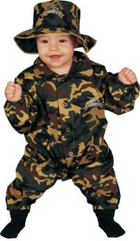 Baby Military Officr 12 To 24m