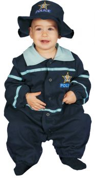 Baby Police Officer Bunting - Infant (0 - 9M)