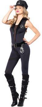 Women's Back-Up Officer Costume - Adult Large