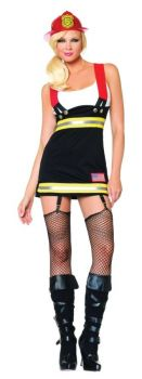 Backdraft Babe Costume - Adult X-Small