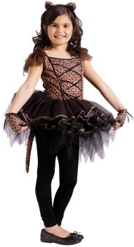 Ballerina Leopard Chld 4-6