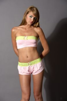 Bandeau Top Pink - Pink - Adult Small