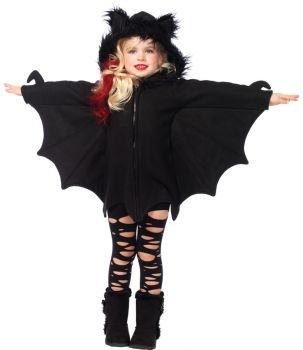Cozy Bat Fleece Costume - Child Large