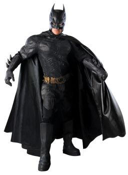 Men's Collector's Edition Batman Costume - Dark Knight Trilogy - Adult Medium