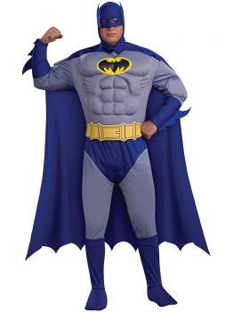 Batman Dlx Plus Muscle Chest