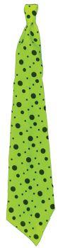 """36"""" Long Neon Tie - Green"""
