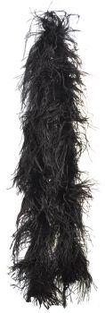 6' Ostrich Boa - Black