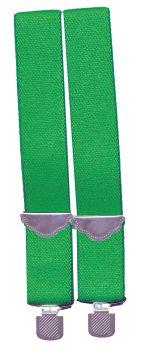 1890s Suspenders - Green