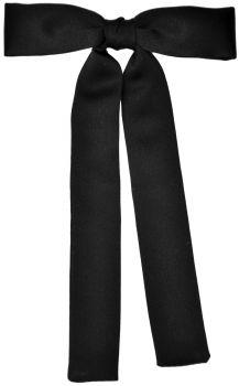 Western Tie - Black