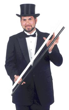 Swagger Stick Heavy White