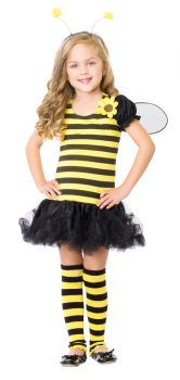 Girl's Bee Costume - Child Large