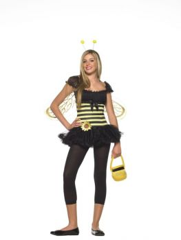 Teen Sunflower Bee Costume - Teen S/M