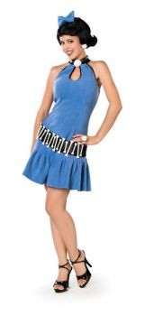 Women's Deluxe Betty Rubble Costume - The Flintstones - Adult Medium